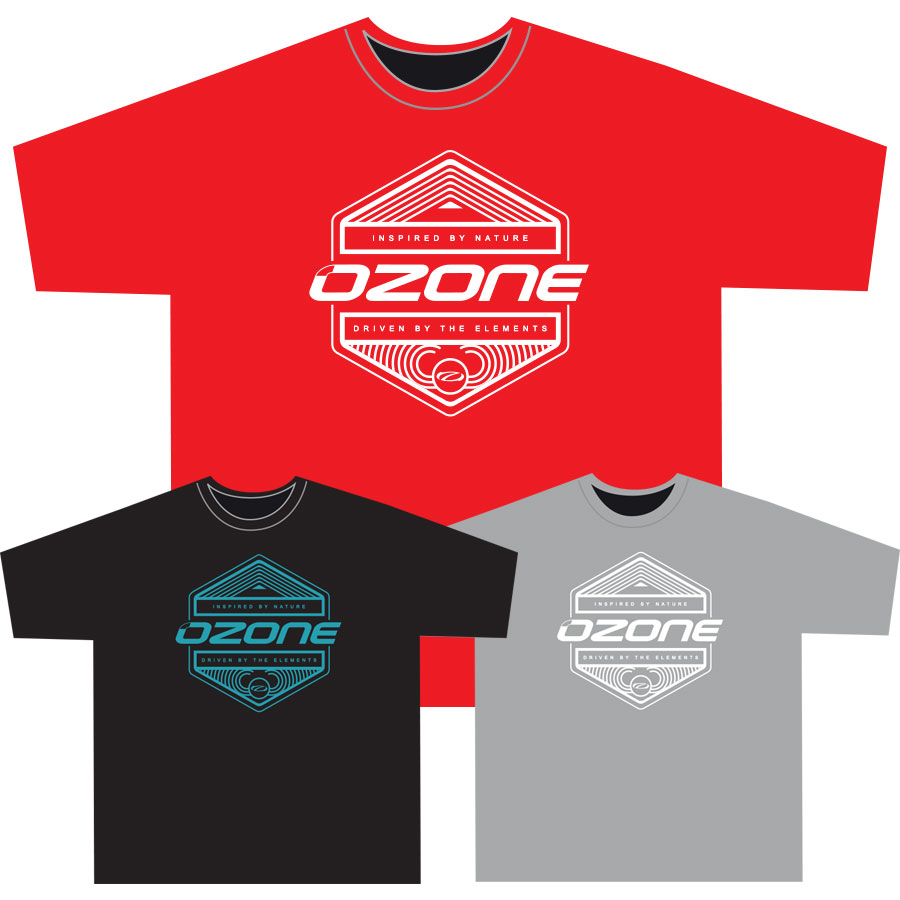 Ozone Inspired T-skjorte Men