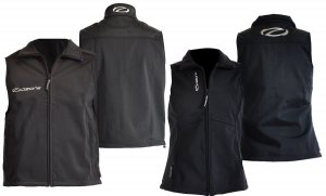 Ozone Windvest black full zip
